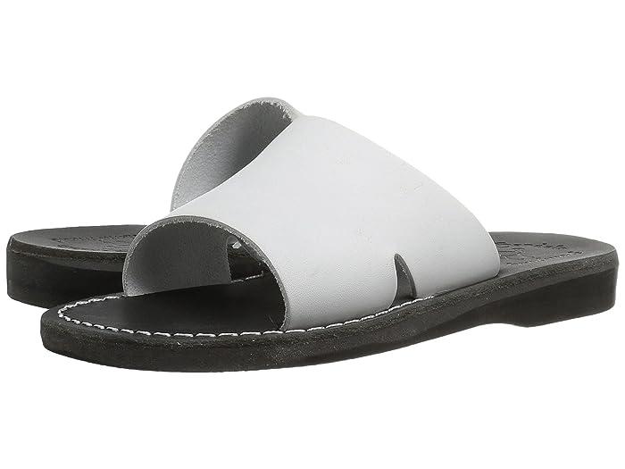 Vintage Sandals | Wedges, Espadrilles – 30s, 40s, 50s, 60s, 70s Jerusalem Sandals Bashan - Womens BlackWhite Womens Shoes $75.95 AT vintagedancer.com