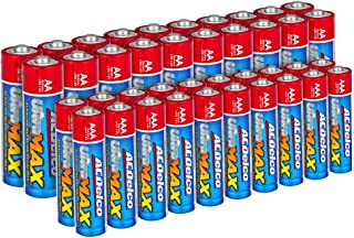 ACDelco AA and AAA Batteries UltraMAX Premium Alkaline Battery, 20-Count Each