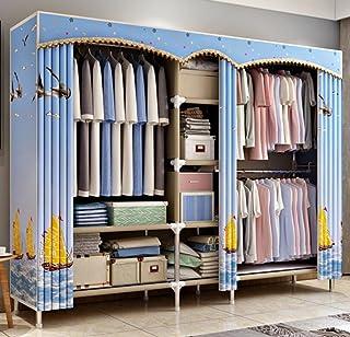 LyMei Armoire de Rangement, Organisateur de Stockage de Garde-Robe Portable Vêtements Armoire Rangement Armoire de Rangeme...