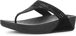 FitFlop Womens L85 Incastone Toe-Thong Sandals