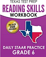 TEXAS TEST PREP Reading Skills Workbook Daily STAAR Practice Grade 6: Preparation for the STAAR Reading Tests