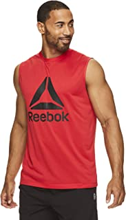 Reebok Men's Muscle Tank Top - Sleeveless Workout & Training Activewear Gym Shirt