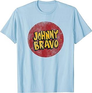 Cartoon Network Johnny Bravo Circle T-Shirt