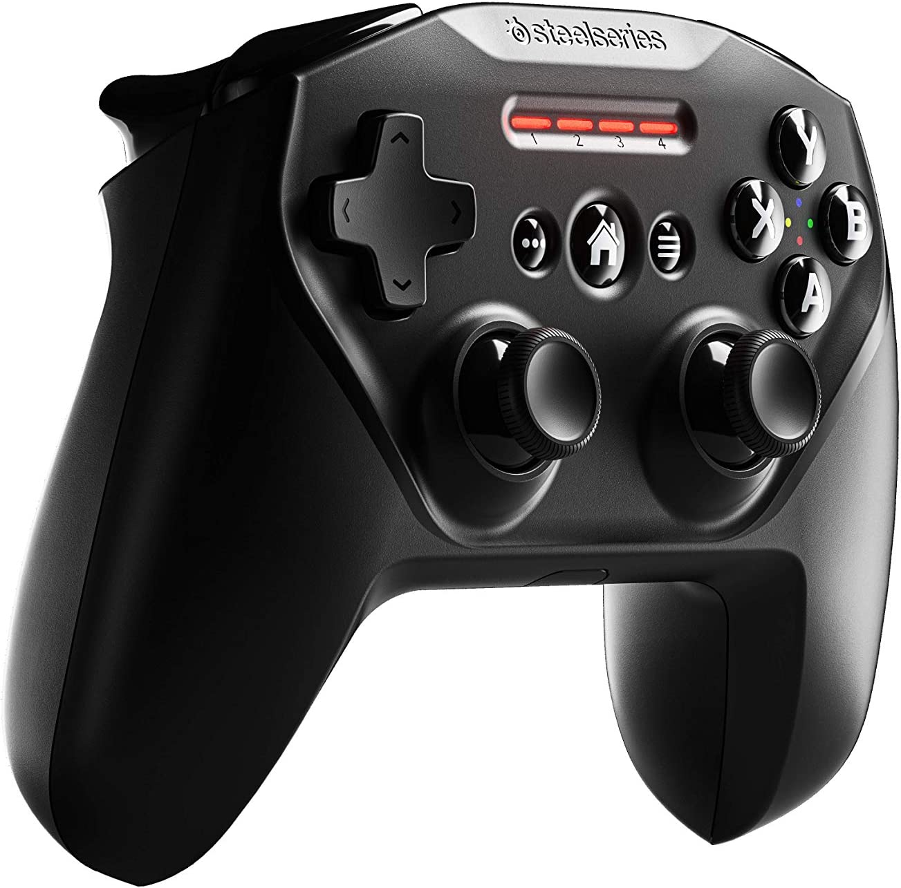 SteelSeries Nimbus+ Bluetooth Mobile Gaming Controller with iPhone Mount + Up to 4 Free Months of Apple Arcade, 50+ Hour Battery Life, Apple Licensed, Made for iOS, iPadOS, tvOS
