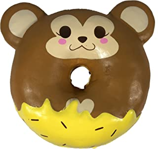 Puni Maru Jumbo Animal Donut with Display Box Featuring Cheeki