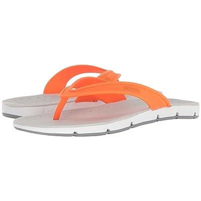 SWIMS Breeze Thong Sandal (Orange/White/Gray) Men
