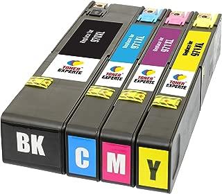 TONER EXPERTE® 4 XL Cartuchos de Tinta compatibles con HP 970XL 971XL 970 971 XL para Impresoras HP OfficeJet Pro X576dw X551dw X476dw X451dw CN625AE CN626AE CN627AE CN628AE | Alta Capacidad