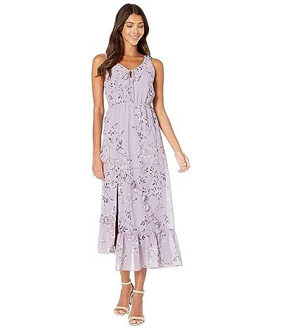 kensie Violet Blooms Sleeveless Dress KS7K8381 (Smokey Violet Combo) Women