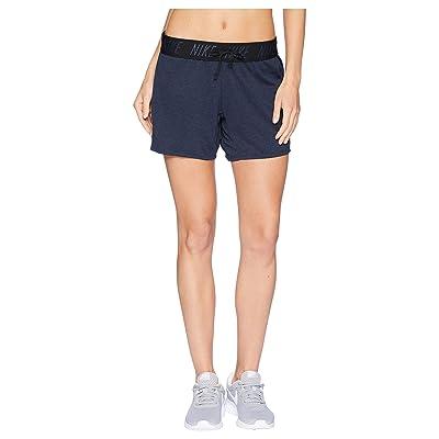 Nike Flex Attack Training Short (Obsidian/Heather/Black) Women
