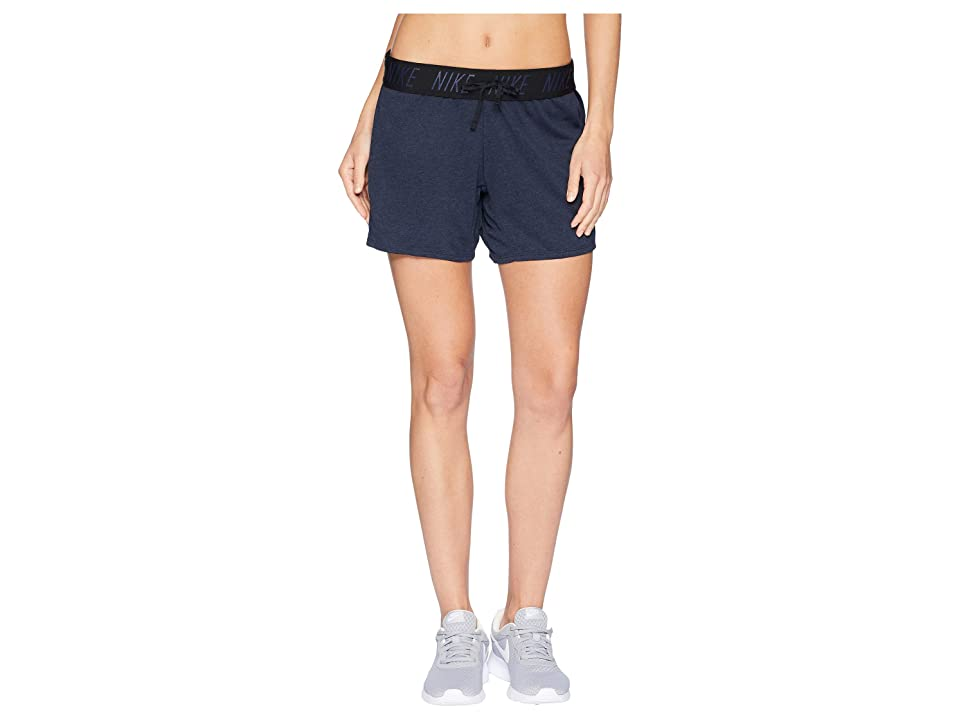Nike Flex Attack Training Short (Obsidian/Heather/Black) Women