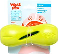 West Paw Zogoflex Qwizl Interactive Treat Dispensing Dog Puzzle Treat Toy for Dogs