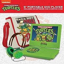 Ematic Teenage Mutant Ninja Turtles 9-Inch Portable DVD Player with Travel Bag and Headphones