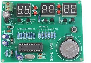 Youmile DIY Kit Modul 9V 12V AT89C2051 6 Digitale LED Elektronische Uhr Teile Komponenten