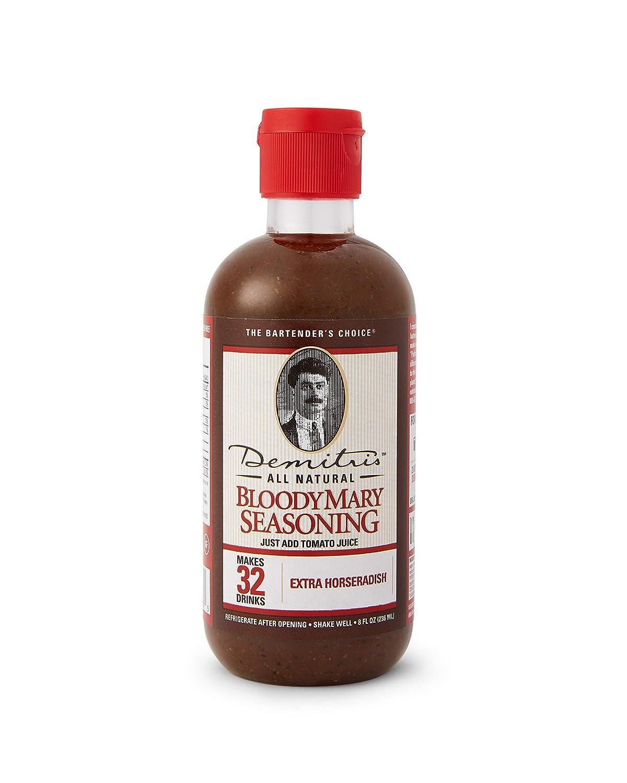Demitri's Bloody Mary Seasoning Extra Horseradish - 8 oz Baltimore Sale special price Mall
