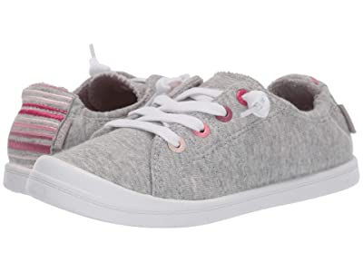 Roxy Kids Bayshore III (Little Kid/Big Kid) (Grey Heather) Girl