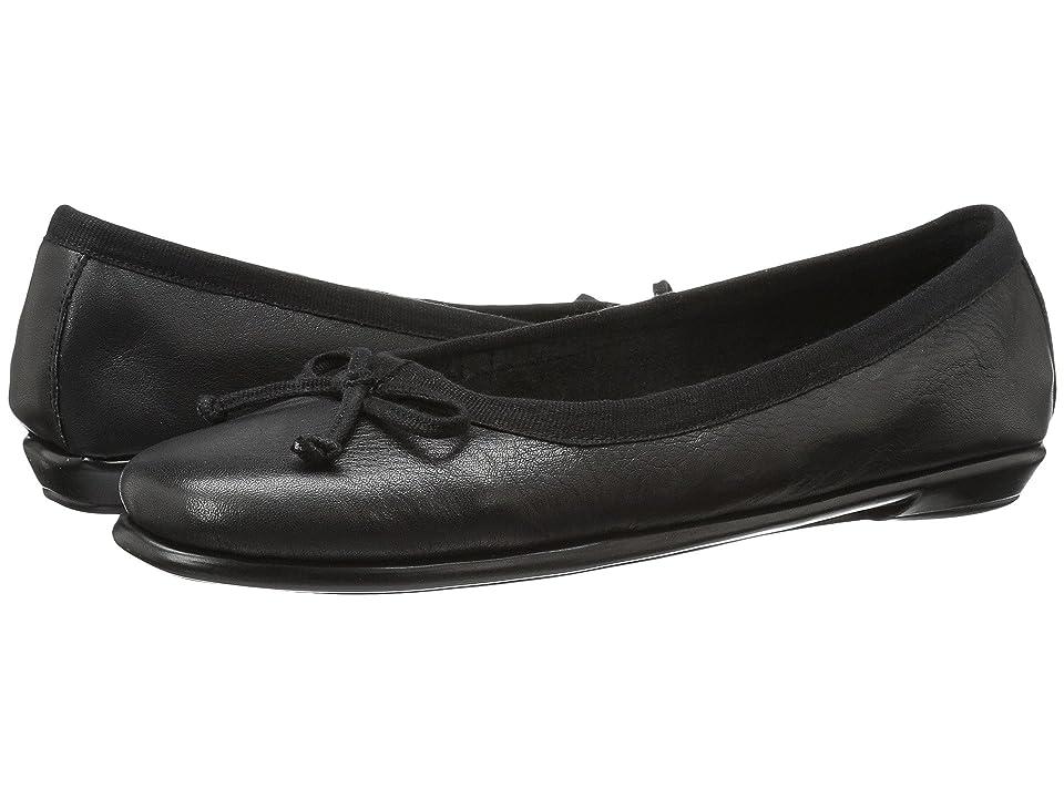 Aerosoles Fast Bet (Black Leather) Women