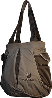 Pesogear Women's Shoulder Bag (PWS0025_Grey & Black)