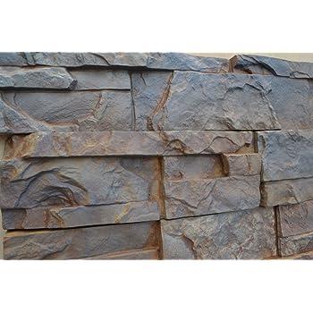 Plastic Molds for Concrete Plaster Wall Stone Slate BEST PRICE Tiles for Garden