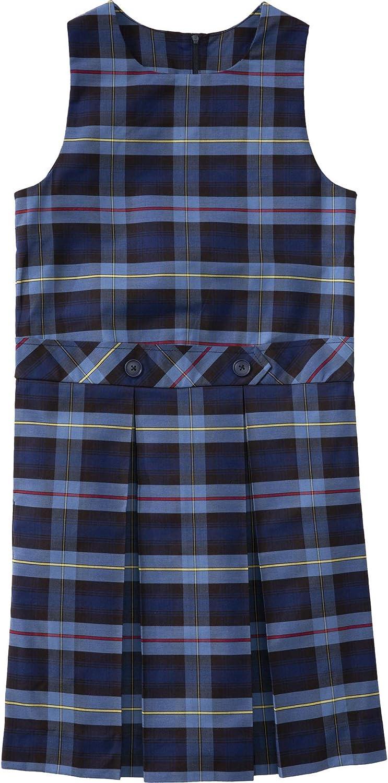 Classroom School Uniform Drop Waist Girls Plus Dress 5PC4943, 16h, Navy