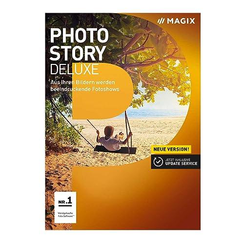 MAGIX Photostory Deluxe – Version 2017 – Fotocollagen und Diashows erstellen [Download]