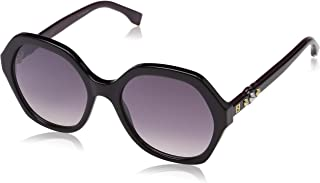 Fendi Women's FF 0270/S OE 807 56 Sunglasses, Black Pink
