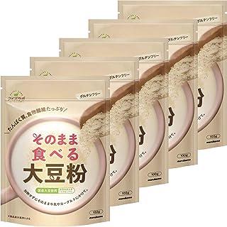 マルコメ ダイズラボ そのまま食べる大豆粉 100g×5個