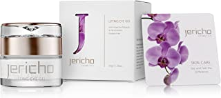 Jericho Cosmetics - Eye Cream Gel for Dark Circles, Puffy Eyes and Under Eye Wrinkles - Contains Anti Aging Agents: Minera...