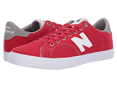 New Balance Numeric AM210 (Red/White Canvas) Men