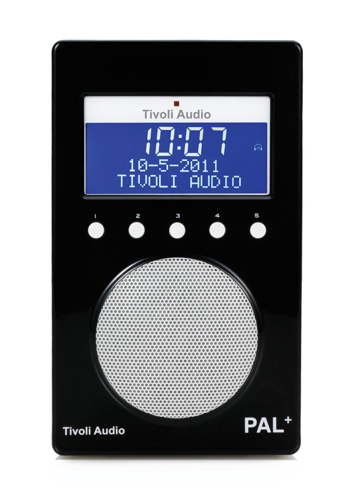 Tivoli - Radio portátil (PAL, DAB), color negro (importado)