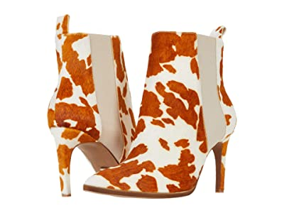 42 GOLD Kensington (Cognac Multi Cow Print) Women