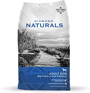 Diamond Naturals Real Meat Recipe Premium Dry Dog Food 40lb Bag