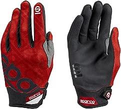 Sparco Meca 3 Mechanics Glove 002093 (Size: Medium, Red)