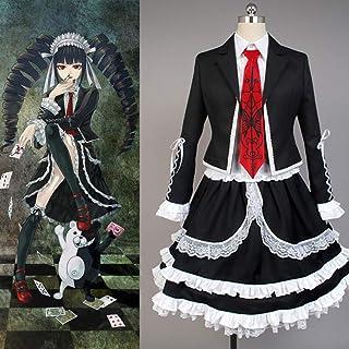 3ffcd2252f DuHLi Danganronpa Cosplay Celestia Ludenberg Costume Adulto Vestito da  Donna Costume di Halloween Vestito da Completo