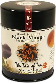 The Tao of Tea, Black Mango Black Tea, Loose Leaf, 4 Ounce Tin