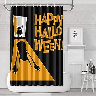Boyouth Digital Print Shower Curtains 8 styles