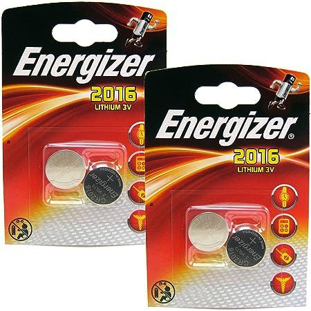 Multi Pack 4 Energizer Cr2016 3v Lithium Knopfzelle Elektronik