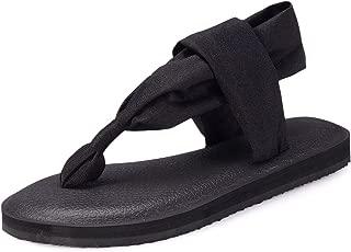 sling back flip flops