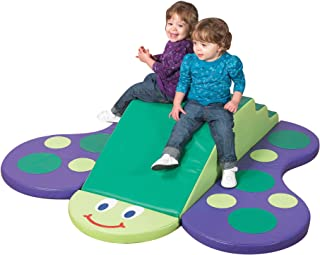 """Children's Factory Butterfly Climber, 60"""" by 52"""" by 12"""" – 4-Piece Climber for Babies and Toddlers to Improve Crawling, Balancing, Climbing Skills – Easy to Assemble, Clean – Safe, Fun, Active Play Set"""