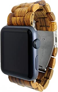 wood apple watch band 38mm