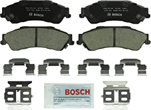 Bosch BC729 QuietCast Premium Ceramic Disc Brake Pad Set For Chevrolet: 1997-05 Blazer, 1997-04 S10; GMC: 1997-05 Jimmy, 1997-04 Sonoma; Isuzu: 1998-00 Hombre; Oldsmobile: 1997-01 Bravada; Rear