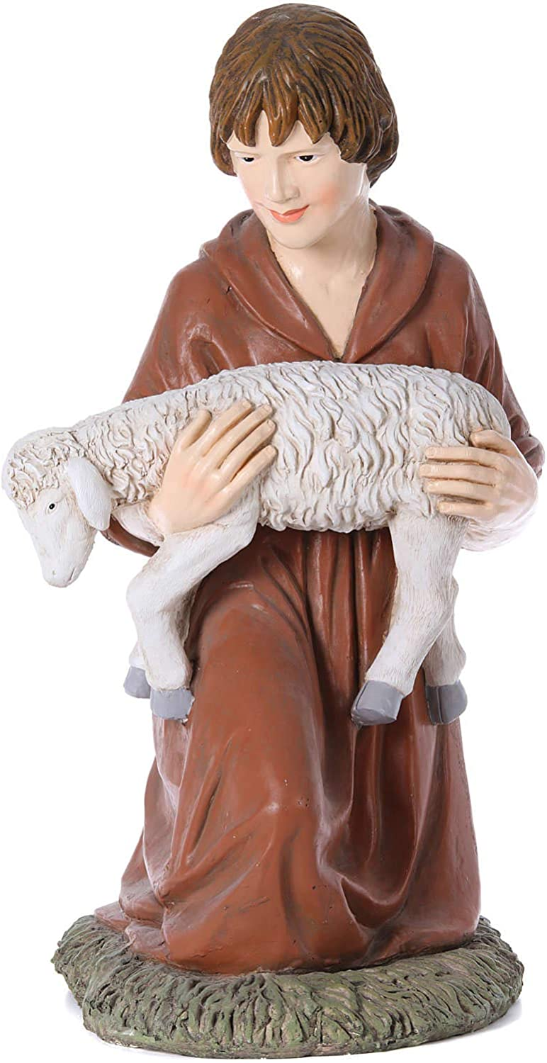 Holyart Nativity Scene Special price for a limited time Statue Shepherd Landi Martino Kneeling Low price 12