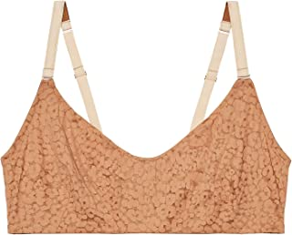 Savage X Fenty Women's Curvy Unlined Leopard Lace Covered Bra