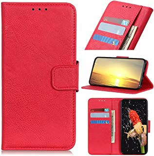 Dalchen Compatible for Case Vivo Y51S, 3 Card Slots 1 Cash Pockets Wallet Cover, Leather Flip Magnetic Button Kickstand Ph...