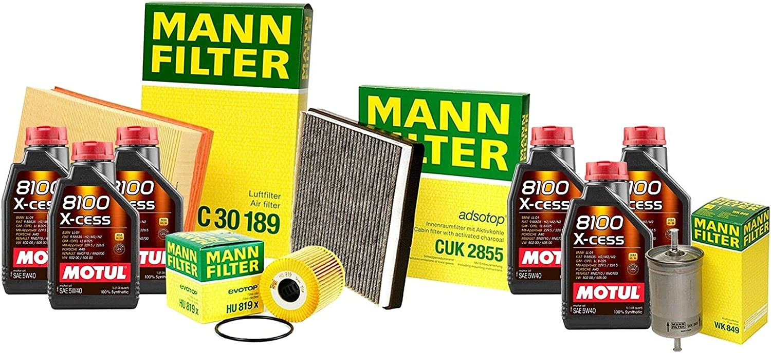 6L 8100 X-CESS 5W40 Oil Filter Service Volvo Sales of SALE items from new works kit Limited time sale with Compatible