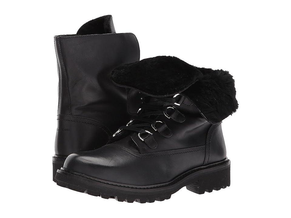 51046d2871 Dolce & Gabbana Kids Lace-Up Boot (Little Kid/Big Kid) (