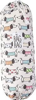 Plastic Bag Holder | Grocery Shopping Bags Carrier | Dispenser | Storage | Organizer. Multiple Designs/Sizes - Dachshund Dwelling, Large