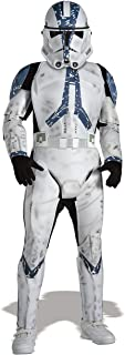 Rubies Star Wars Classic Child's Deluxe Clone Trooper Costume and Mask, Medium