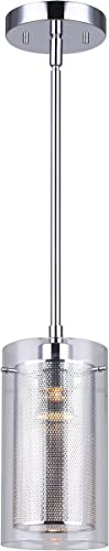 high quality Canarm IST184B01CH10 new arrival Rohe wholesale 1-Light Pendant, Chrome sale