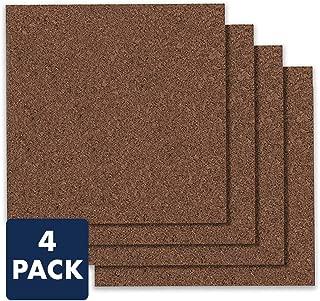 Quartet Cork Board Tiles, 12