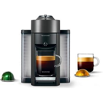 Nespresso ENV135GY Coffee and Espresso Machine by De'Longhi, Graphite Metal